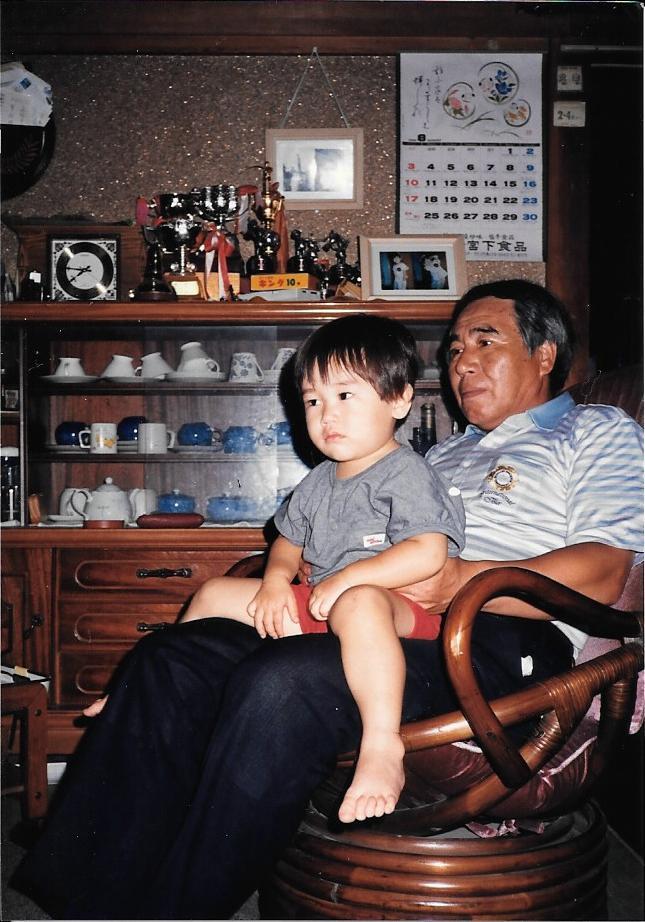 母方の祖父と