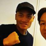 プロボクシング日本ユース初代王座トーナメントスーパーライト級決勝戦を控える平岡アンディ選手のセッション 横浜二俣川でダイエット・加圧トレーニング スタイルup加圧トレーニング186