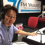 FM YAMATO 77.7MHzの音楽番組「つちやRYu'S BAR」にパーソナルトレーナーとしてゲスト出演させていただきました。