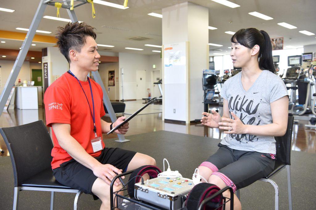 横浜二俣川の加圧トレーニング&パーソナルトレーニングのカウンセリング